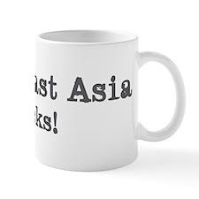 South-East Asia rocks Mug