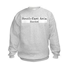 South-East Asia rocks Kids Sweatshirt