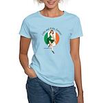 Irish Pin Up Girl Women's Light T-Shirt