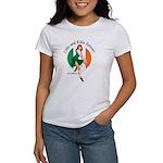 Irish Pin Up Girl Women's T-Shirt
