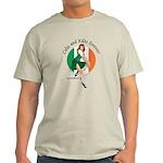 Irish Pin Up Girl Light T-Shirt