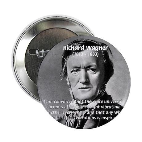 Musician Richard Wagner Button