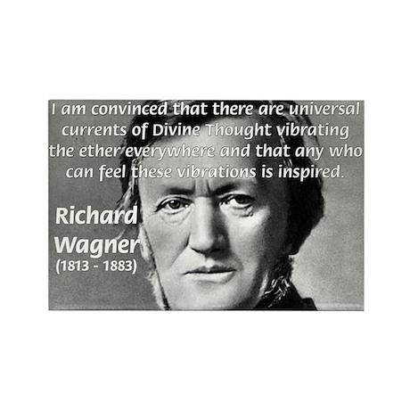 Musician Richard Wagner Rectangle Magnet