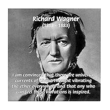 Musician Richard Wagner Tile Coaster