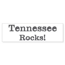 Tennessee rocks Bumper Bumper Sticker
