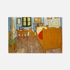 Van Gogh Room Rectangle Magnet