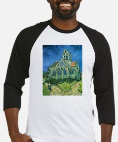 Van Gogh Church Baseball Jersey