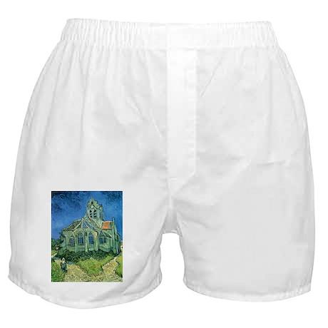 Van Gogh Church Boxer Shorts