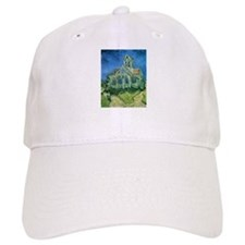Van Gogh Church Baseball Cap