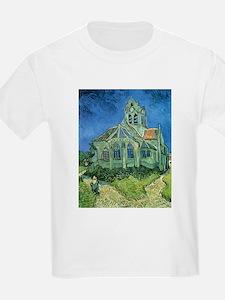 Van Gogh Church T-Shirt