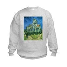 Van Gogh Church Sweatshirt