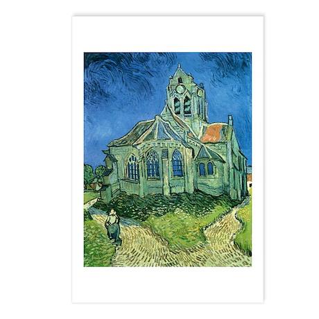 Van Gogh Church Postcards (Package of 8)