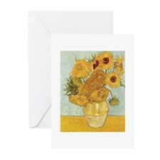 Van Gogh Sunflowers Greeting Cards (Pk of 10)