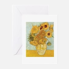 Van Gogh Sunflowers Greeting Cards (Pk of 20)