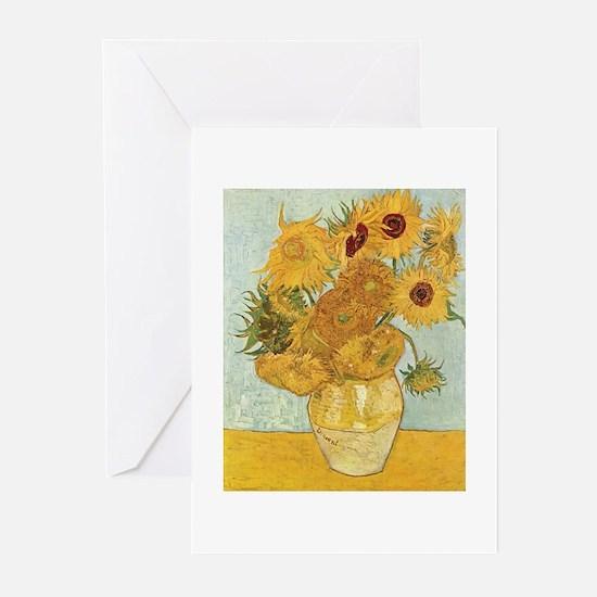 Van Gogh Sunflowers Greeting Cards (Pk of 20)