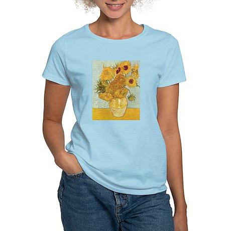 Van Gogh Sunflowers Women's Light T-Shirt