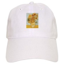 Van Gogh Sunflowers Baseball Cap