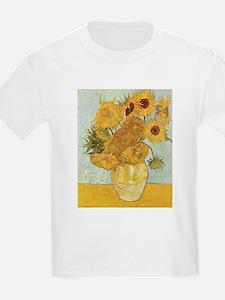 Van Gogh Sunflowers T-Shirt