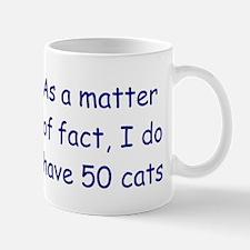 50 cats Mug