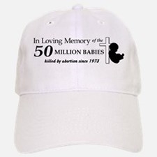 Pro Life - In Loving Memory Baseball Baseball Cap