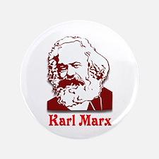 """Karl Marx 3.5"""" Button"""