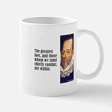 "Cervantes ""Greatest Foes"" Mug"