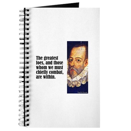 "Cervantes ""Greatest Foes"" Journal"