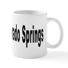 I Love Colorado Springs Mug
