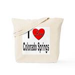I Love Colorado Springs Tote Bag