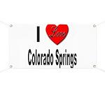 I Love Colorado Springs Banner