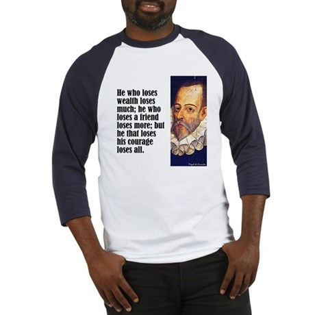 "Cervantes ""Who Loses"" Baseball Jersey"