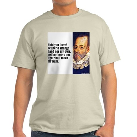 "Cervantes ""My Bum"" Light T-Shirt"