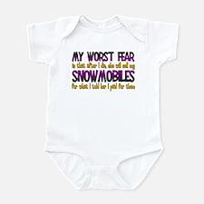 Cheap Snowmobiles Infant Bodysuit