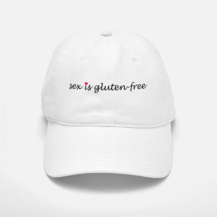 sex is gluten-free Baseball Baseball Cap