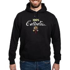 100% Catholic Hoodie