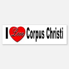 I Love Corpus Christi Bumper Bumper Bumper Sticker