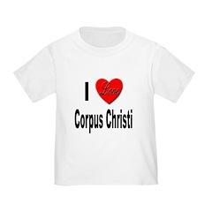 I Love Corpus Christi (Front) T