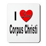 I Love Corpus Christi Mousepad