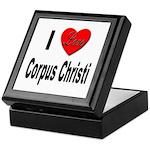 I Love Corpus Christi Keepsake Box