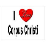 I Love Corpus Christi Small Poster