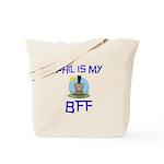 Phil BFF Groundhog Day Tote Bag