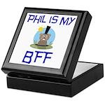 Phil BFF Groundhog Day Keepsake Box