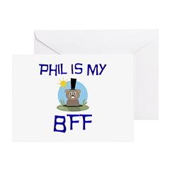 Phil BFF Groundhog Day Greeting Card