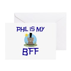 Phil BFF Groundhog Day Greeting Cards (Pk of 20)