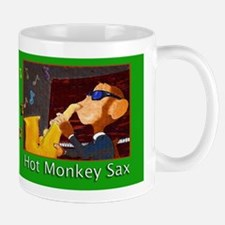 Hot Monkey Sax Mug