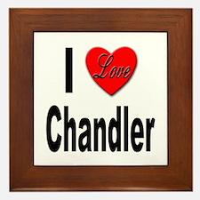 I Love Chandler Framed Tile