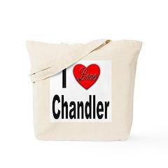 I Love Chandler Tote Bag