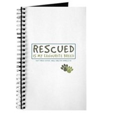 Rescued is my Favourite Breed Journal