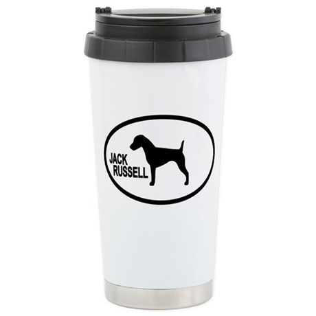 Jack Russell Stainless Steel Travel Mug