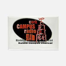 Unique Radio station Rectangle Magnet (10 pack)